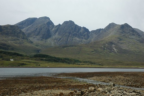 Magnificent Bla Bheinn (Blaven) from across Loch Slapin on Skye