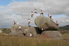 Nan nan is the coolest dude ever (Catherine Ryan) Tags: rock jump action newengland australia run boulder multiplicity explore nsw sit stonehenge bouldering sequence clone 2008 leap brendan clon damncool klon top20clonepics motifdwinner photofaceoffwinner pfogold friendlychallenges friendlychallengeswinner awardflickrbest 9791views