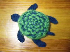 Sea Turtle felted