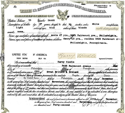 Harry Naturalization