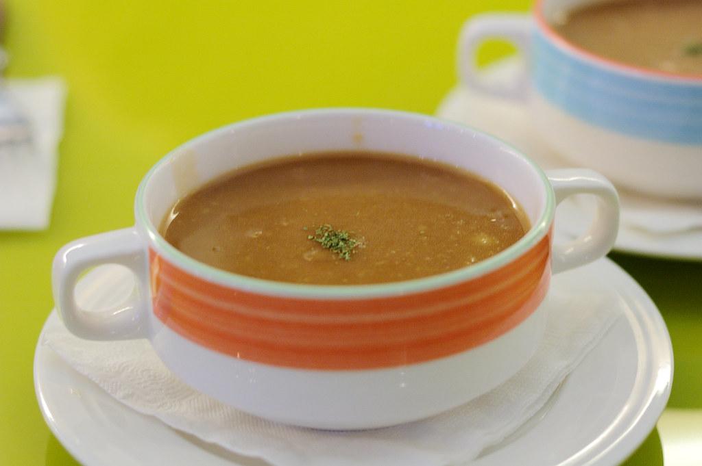 洋蔥摩菇湯之類的