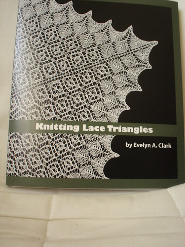 Knitting Lace Triangles by Evelyn A. Clark