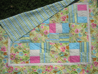 Quilt - Completed first quilt
