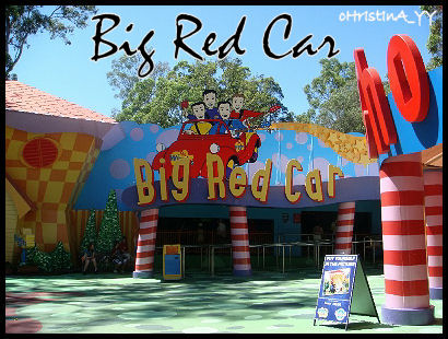 Big Red Car Ride