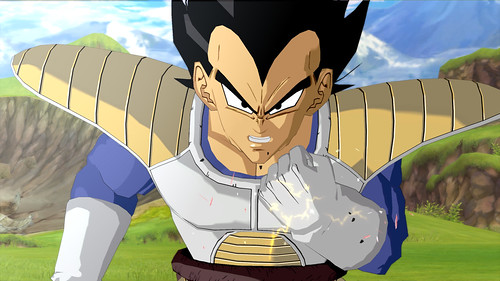 Dragon Ball Z Burst Limit Vegeta