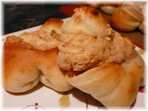 花生麵包出爐