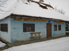 Former servant quarters, Count Kalnoky guesthouse, Micloşoara/Miklósvár, Romania (Joel Abroad) Tags: romania transylvania maize corncob szekler kalnoky micloşoara miklósvár