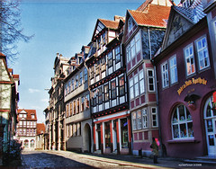Streets of Quedlinburg (MyOakForest) Tags: germany deutschland town historic 101 fachwerk timbered historisch quedlinburg
