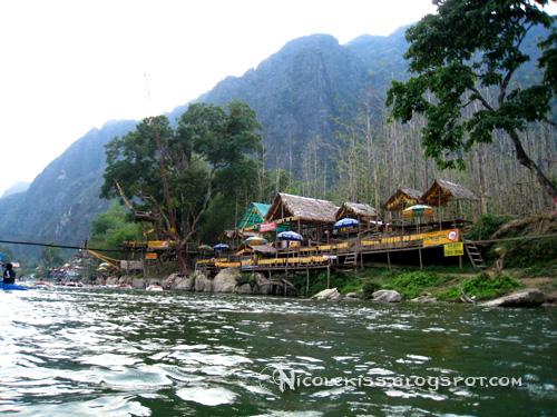 bar stop hut - river view