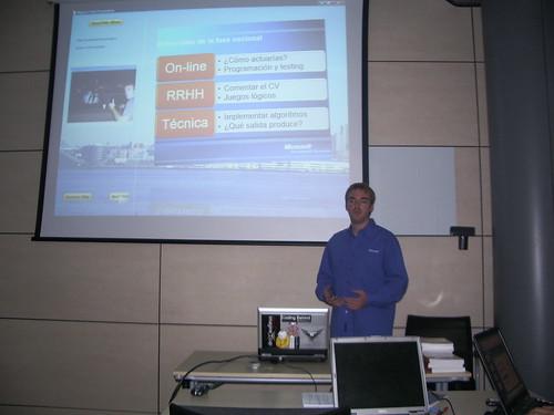 De visita en Microsoft