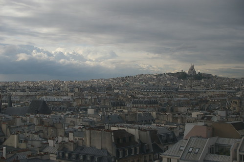 Paris from the Pompidou