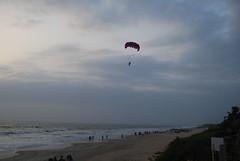 paragliding in goa (pallav moitra) Tags: beach goa anjuna panjim mandovi zuari baghator