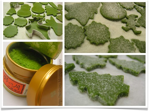 Matcha Green Tea Cookiese
