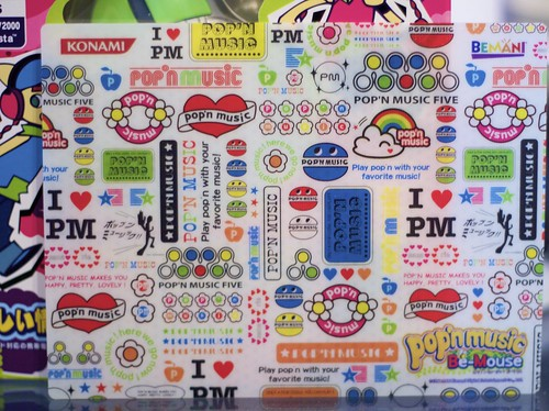 pop'n music Be-Mouse - Mouse Pad