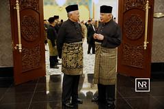 Majlis Santapan Malam memuliakan mesyuarat majlis Raja-Raja yang ke-245.Istana Negara.22/2/17