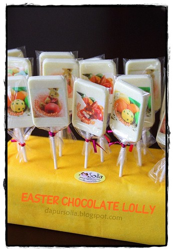 Easter Chocolate Lolly