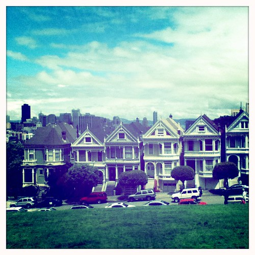 the painted ladies in color, hipstamatic