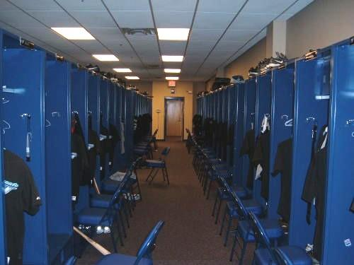Tucker Stadium Locker Rooms
