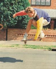 Nick (luns_spluctrum) Tags: film skateboarding ollie skateboard canveyisland