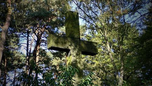 Friedhof Ohlsdorf in Hamburg - Steinkreuz
