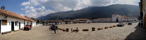 Place de Villa de Leyva - Colombie