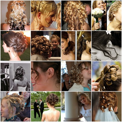 bride updos, wedding hair
