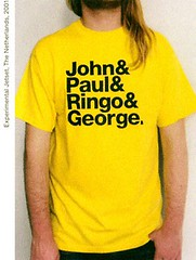 John&Paul&Ringo&George by Experimental Jetset