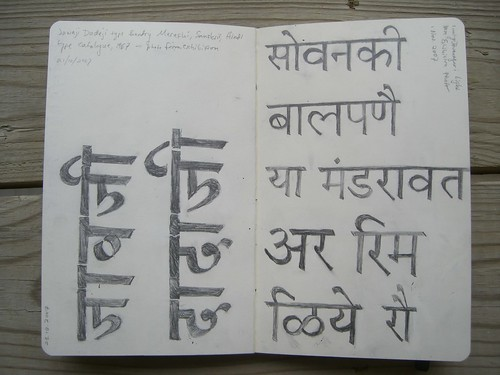 From Linotype Devanagari, etc.