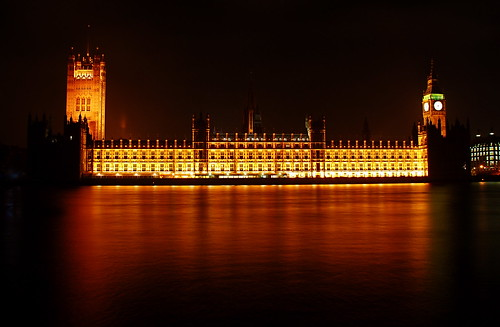 Houses of Parliament at Night 01