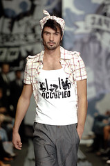 ! (spring-summer 2006) (MAX CHERNITSOV) Tags: fashion design moscow moda style tshirt clothes vogue mens plaid russian mode teeshirt catwalk designers dfil    rfw  chernitsov russianfashionweek    teeeshirt     maxchernitsov