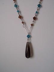 Smokey Quartz AA Grade (kateysbeads) Tags: necklace crystal jewelry smokeyquartz