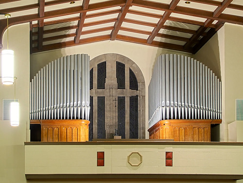 Saint Mary Magdalen Roman Catholic Church, in Saint Louis, Missouri, USA - pipe organ.jpg