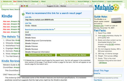 Mahalo Adds The Social Graph To Search