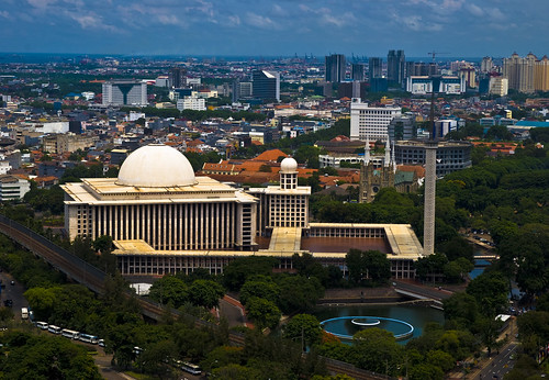 Istiqlal Mosque por HKmPUA.