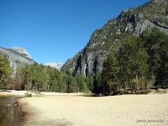 Beach, Yosemite National Park, California (jamiejennings) Tags: california usa mountains beach nature nationalpark sand scenic yosemite yosemitenationalpark californiascenery sandandsky