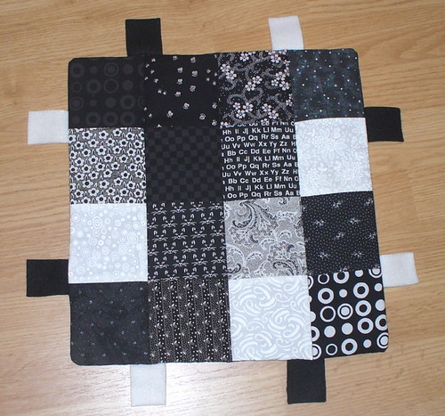 Black and White activity mat