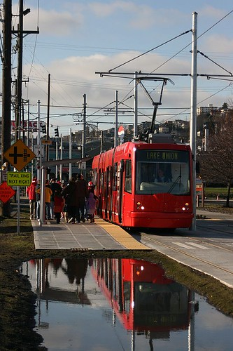 South Lake Union Streetcar by Author