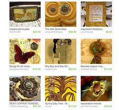 Etsy Homepage - Sat Jan 5th 2008