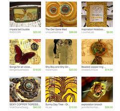Etsy Homepage - Sat Jan 5th 2008