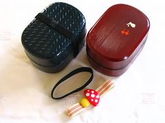Plastic lacquer-effect boxes