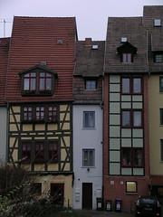 schmalste Haus Erfurts/ thinnest house of Erfurt (mia_4loose) Tags: germany thringen erfurt architektur thin fachwerk schmal
