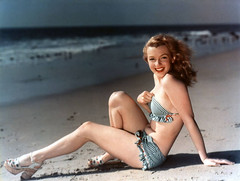 marilyn beachy bikini (carbonated) Tags: ladies celebrity marilynmonroe famous 1950s moviestar