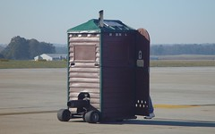 Jet-Powered Porta-Potty (blazer8696) Tags: show 2004 nc force sony air wayne jet johnson northcarolina cybershot special airshow porta seymour popular base gsb potty sandysprings goldsboro irongate dscf707 dsc02453 t2004