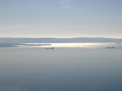 il golfo di Trieste dal treno