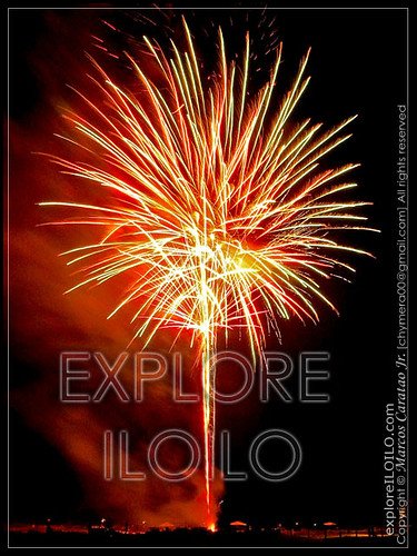 Luces in the Sky   Nationwide Fireworks Contest and Iloilos First Pyro Olympics