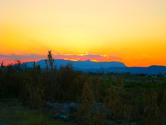 Afantou, Rhodes - Greece (pantherinia_hd Anna A.) Tags: sunset sun colors clouds mediterranean aegean hellas greece vacations     aplusphoto diamondclassphotographer flickrdiamond excapture afantou goldstaraward