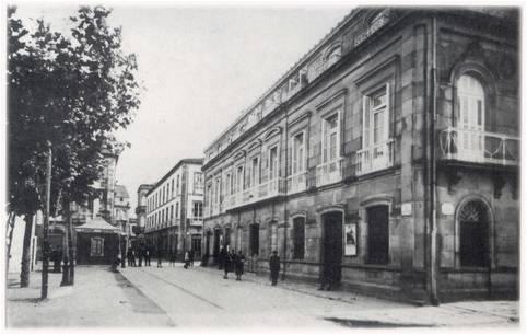 Rúa de Valentín Viqueira.