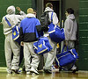 Washingtonville, NY HS Basketball. 1/2008.
