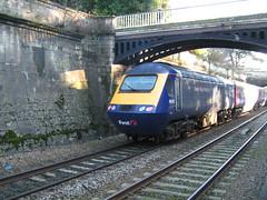 FGW HST 43018, Sydney Gardens, Bath (looper23) Tags: uk railroad england train bath britain railway trains british express firstgreatwestern intercity 43 125 hst sydneygardens highspeedtrain class43 intercity125 fgw 43018