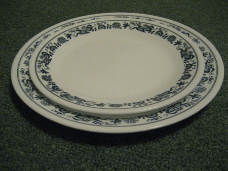 Corelle Old Town Plates